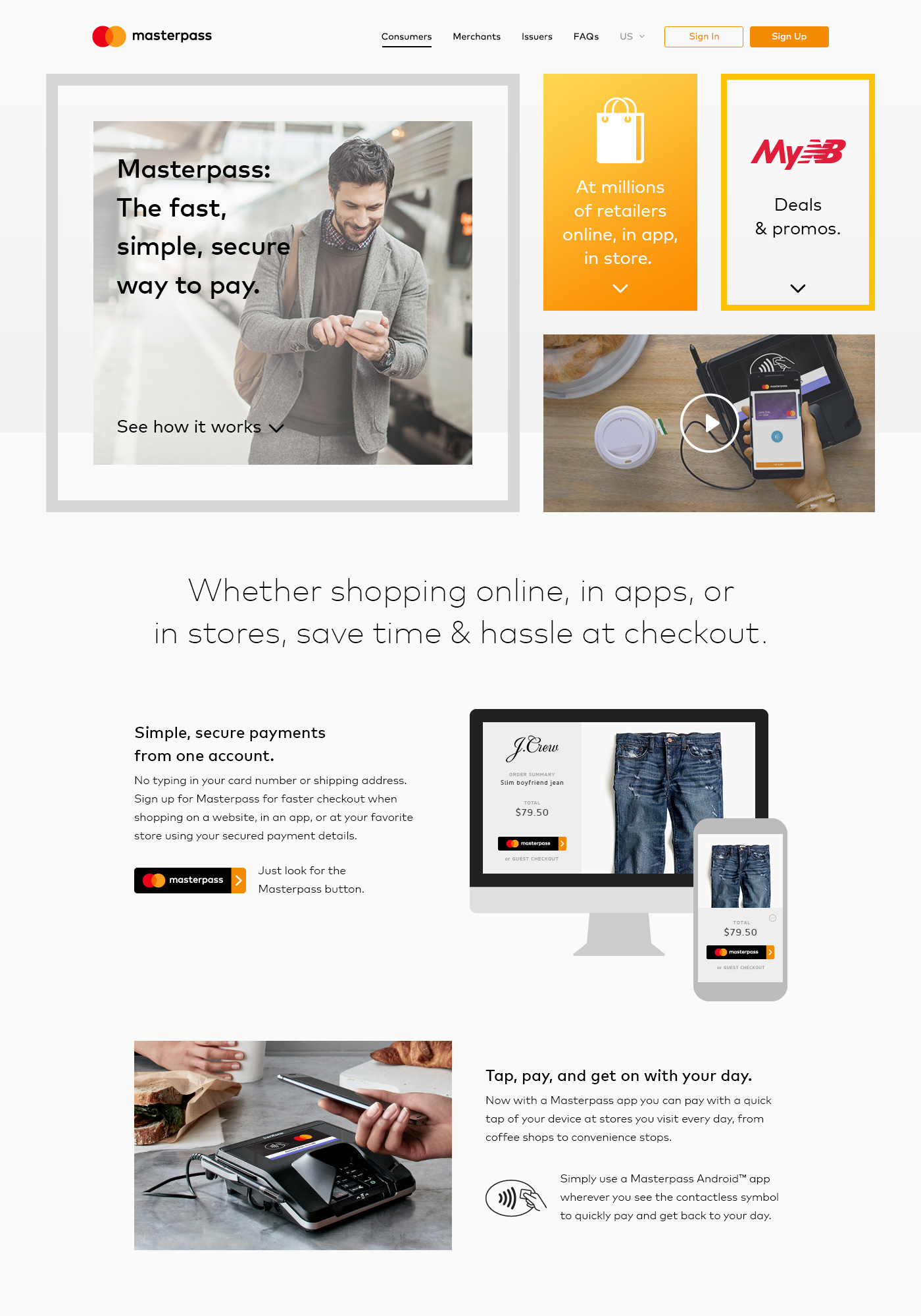 fintech web design